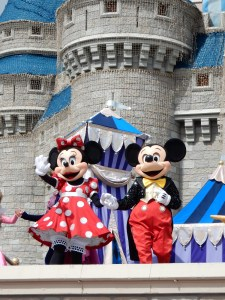Mickey and Minnie in the Dream Along with Mickey show