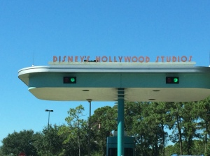Entrance to Hollywood Studios