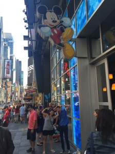 The Disney Store in Times Square