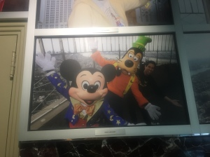 Mickey and Goofy have stood on the 102 floor of the Empire State Building as well!